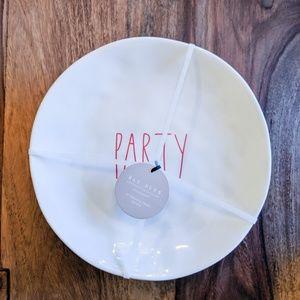 NWT Rae Dunn Set of 4 Party Melamine Plates